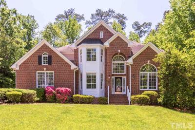 Chapel Hill Single Family Home For Sale: 106 Hogan Woods Circle