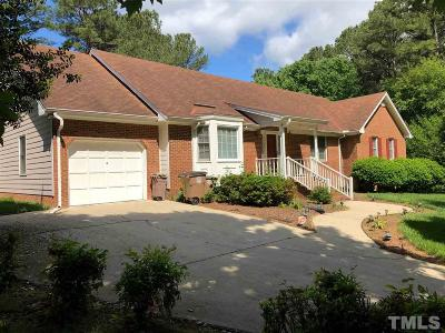 Wake Forest Single Family Home Contingent: 734 Pineview Drive