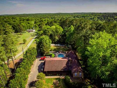 Chatham County Single Family Home For Sale: 4866 N Us 15 501 Highway