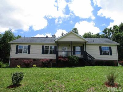 Siler City Single Family Home For Sale: 82 Seminole Point Lane