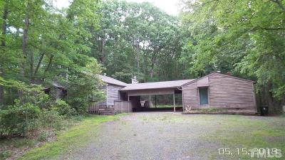 Durham Single Family Home For Sale: 1509 Snow Hill Road