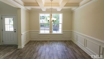 Clayton Single Family Home For Sale: 100 Needham Lane #74