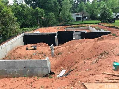 Wake County Residential Lots & Land For Sale: 3417 Churchill Road