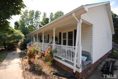 Benson Single Family Home For Sale: 50 Sanders Road