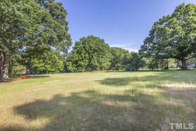 Wake County Residential Lots & Land For Sale: 6519 Jean Drive