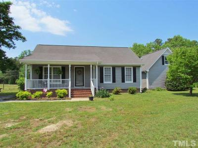 Raleigh Single Family Home Contingent: 3025 Old Crews Road