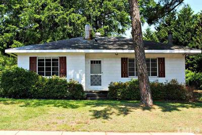 Wake County Single Family Home Contingent: 3529 Edwards Mill Road