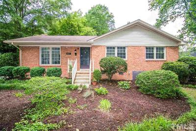 Raleigh Single Family Home For Sale: 427 Latimer Road