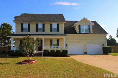 Harnett County Single Family Home Pending: 31 Scarlet Oak Circle