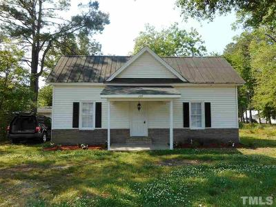 Johnston County Single Family Home For Sale: 209 S Church Street
