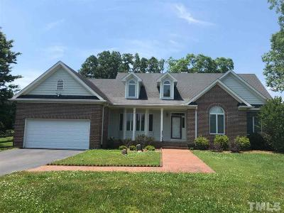 Chapel Hill Single Family Home For Sale: 1218 Bowden Road