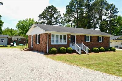 Harnett County Single Family Home For Sale: 301 W A Street