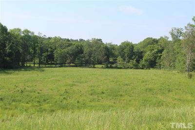 Chatham County Residential Lots & Land For Sale: 602 Goldston Glendon Road