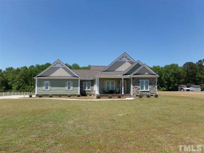 Benson Single Family Home For Sale: 2205 N Nc 50 Highway