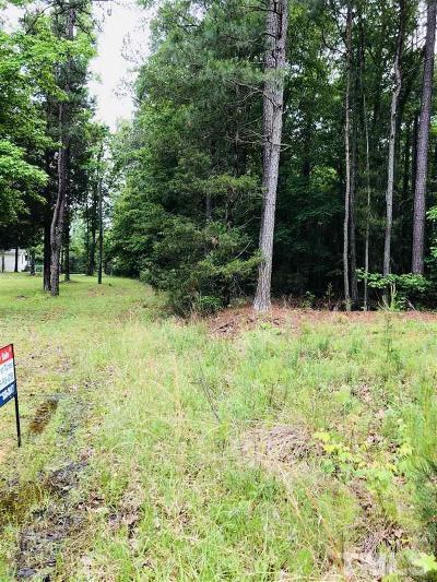 Granville County Residential Lots & Land For Sale: SR 1526 Reavis Road