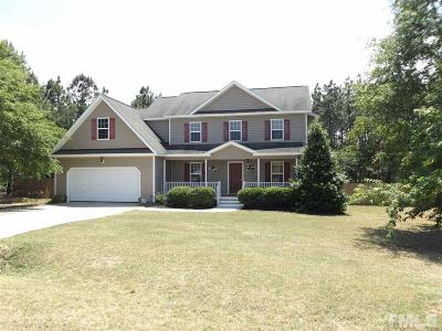 Harnett County Single Family Home For Sale: 176 Jumpmaster Drive