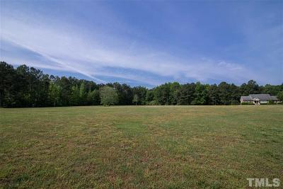 Franklin County Residential Lots & Land Pending: Nc 96 Highway