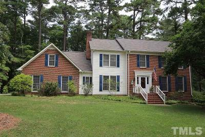 Raleigh NC Single Family Home For Sale: $487,000