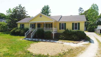 Wake Forest Single Family Home Contingent: 2304 Rolesville Road