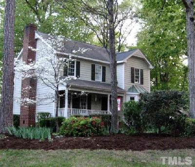 Raleigh Single Family Home For Sale: 2720 Halfhitch Trail