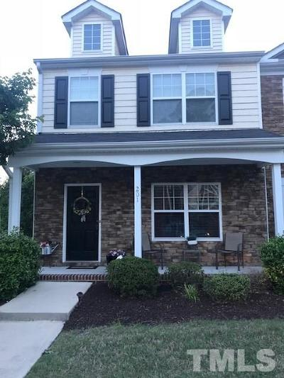 Knightdale Townhouse For Sale: 201 Tallula Lane