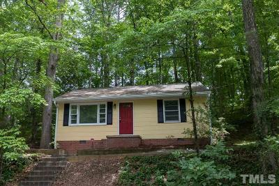 Chapel Hill Single Family Home For Sale: 1110 Valley Park Drive