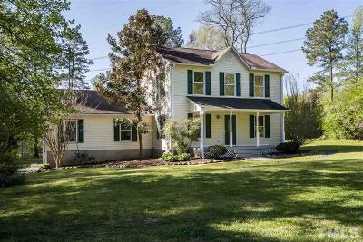 Chapel Hill Single Family Home For Sale: 531 Lashley Road