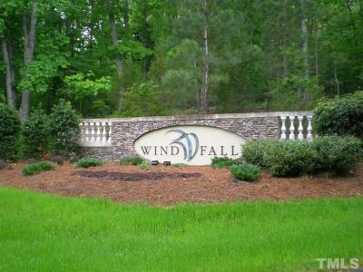 Chatham County Residential Lots & Land For Sale: 91 Ocoee Falls Drive
