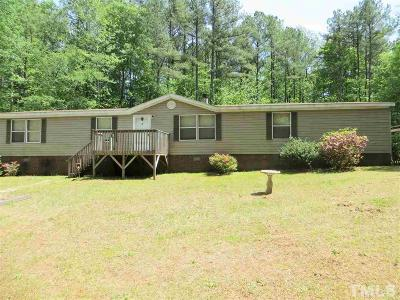 Pittsboro Manufactured Home For Sale: 100 Wood Road