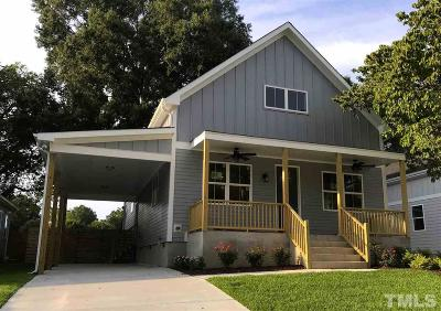 Raleigh Single Family Home Contingent: 815 Postell Street