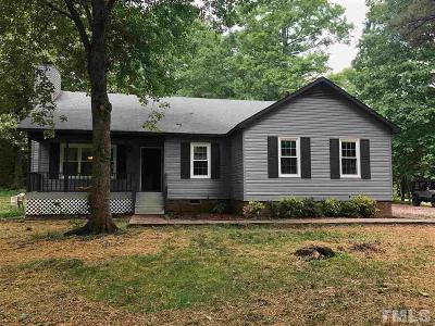 Youngsville NC Single Family Home Contingent: $160,000