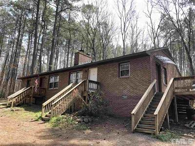 Chatham County Multi Family Home For Sale: 432 Jones Ferry Road