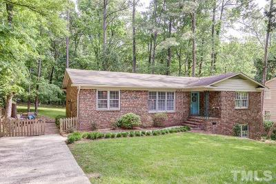 Chapel Hill Single Family Home Contingent: 1701 Fountain Ridge Road