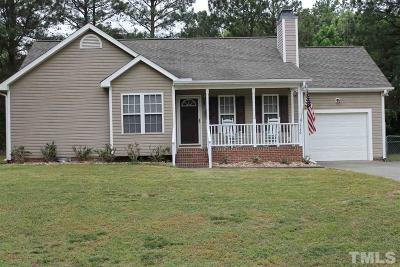 Creedmoor Single Family Home For Sale: 1736 Cobblestone Drive