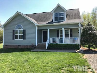 Franklinton Single Family Home Contingent: 4302 Shadowmoss Court