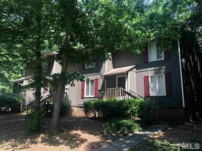 Wake County Multi Family Home Pending: 4046 Arckelton Drive