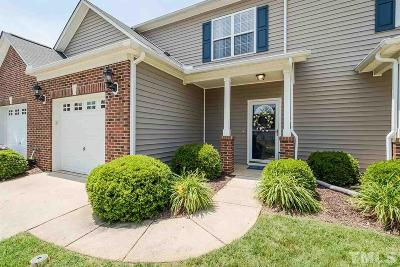 Holly Springs Townhouse For Sale: 216 Cline Falls Drive