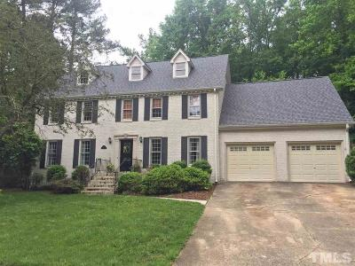 Raleigh Single Family Home Pending: 7205 Grist Mill Road