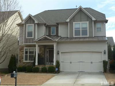Cary Single Family Home For Sale: 5033 Audreystone Drive