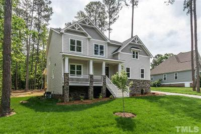 Wake Forest Single Family Home For Sale: 15012 Westerfield Road