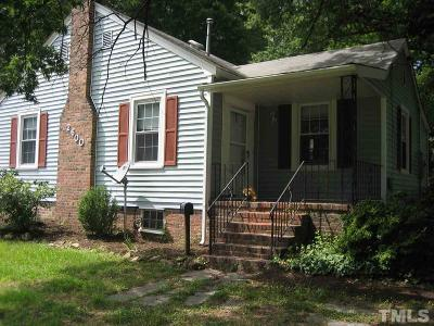Durham Single Family Home Contingent: 2600 Englewood Avenue