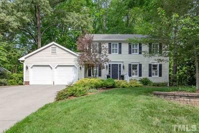 Cary Single Family Home For Sale: 110 Trackers Road