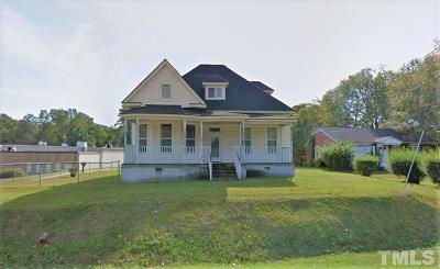 Fuquay Varina Single Family Home Contingent: 407 W Academy Street