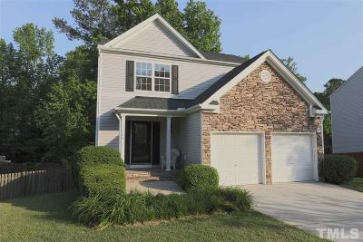 Holly Springs Single Family Home Contingent: 305 Sturminster Drive