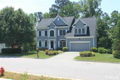 Apex Single Family Home Contingent: 1806 Charlion Downs Lane