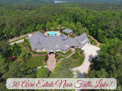 Wake Forest Single Family Home For Sale: 7728 Grace Cove Lane