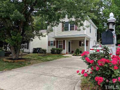 Apex Single Family Home For Sale: 207 Sparta Lane
