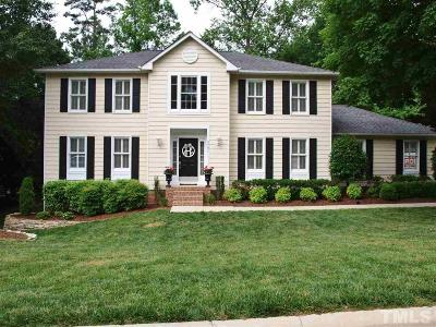 Raleigh Single Family Home Contingent: 5701 Crooked Stick Trail