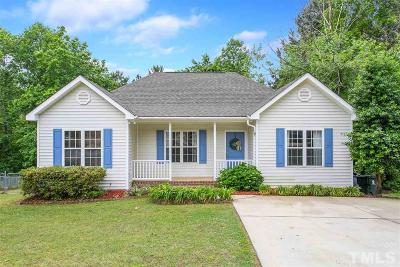 Holly Springs Single Family Home Contingent: 312 Adelaide Road