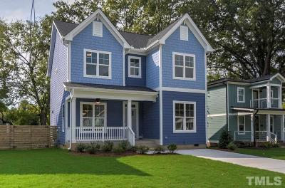 Raleigh Single Family Home For Sale: 806 Postell Street